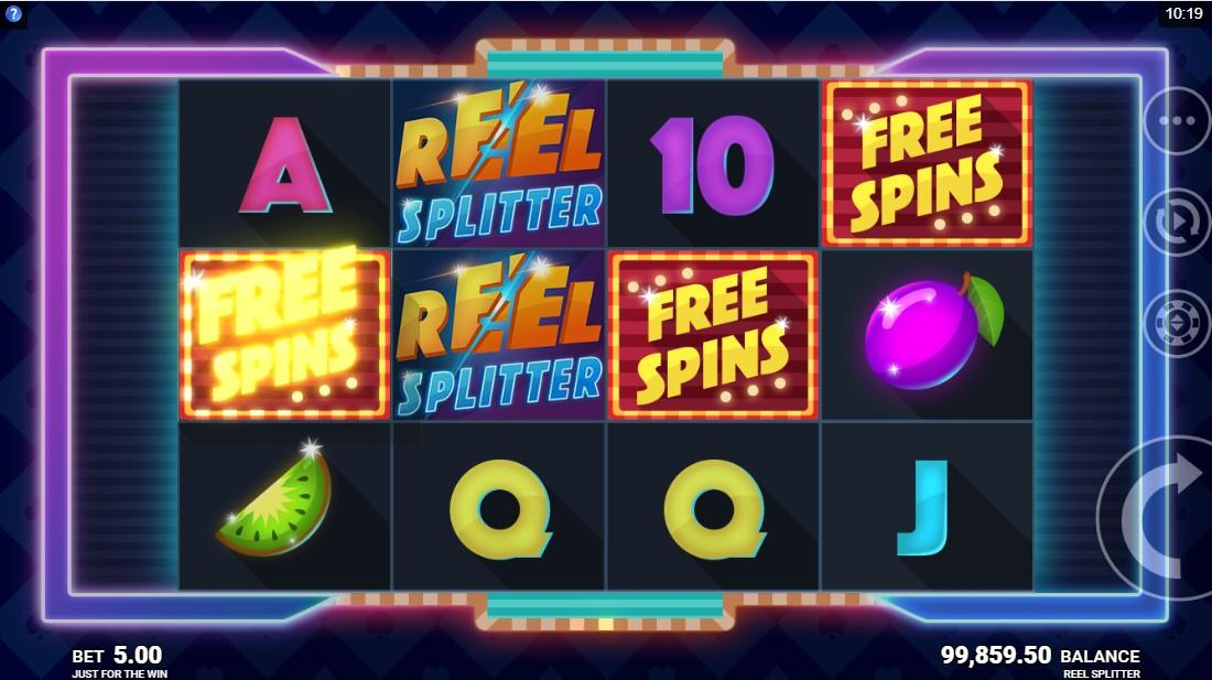Reel Splitter бесплатный слот