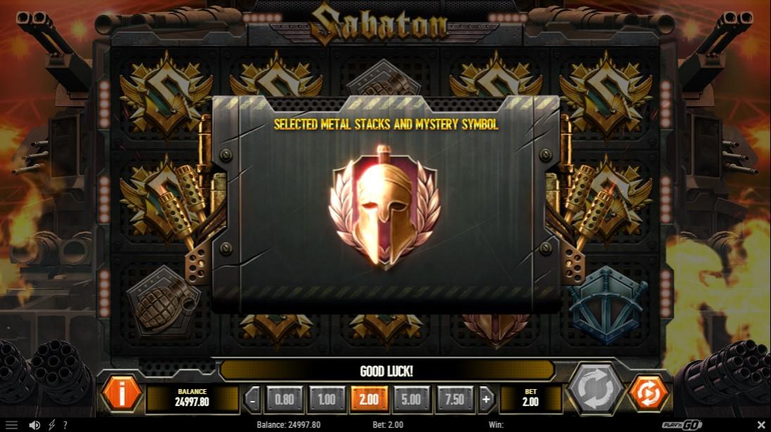 Бесплатный игровой автомат Sabaton