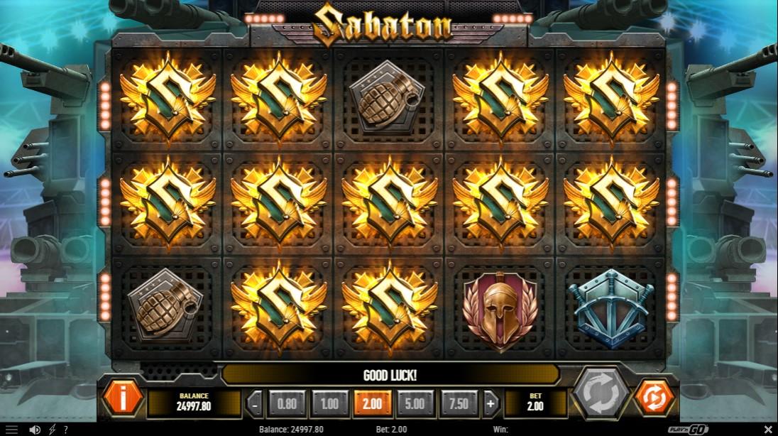 Sabaton играть онлайн