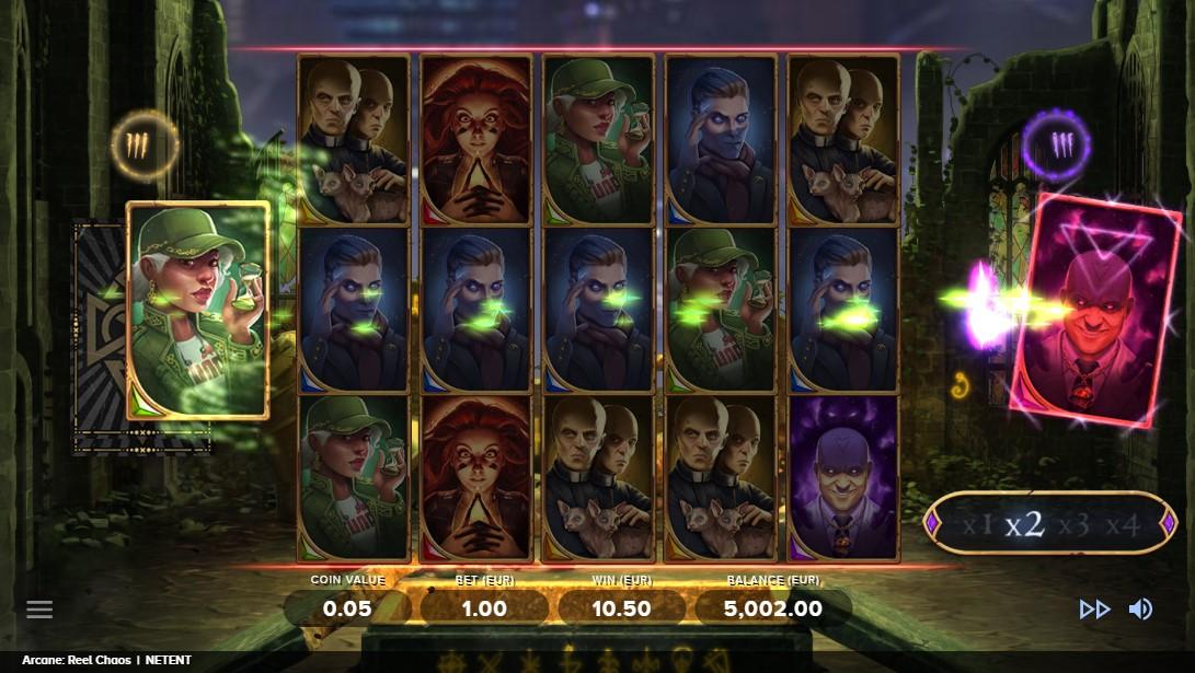 Arcane Reel Chaos игровой автомат