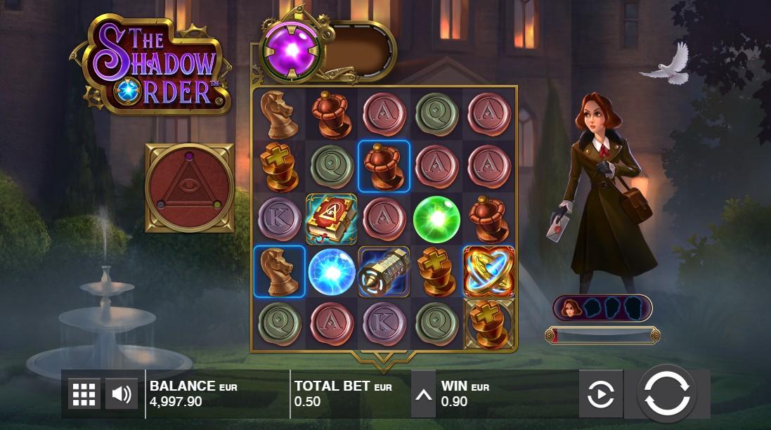 Бесплатный игровой автомат The Shadow Order