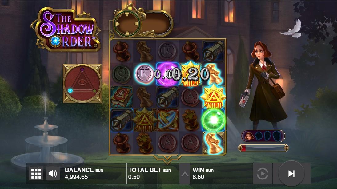 Игровой автомат The Shadow Order