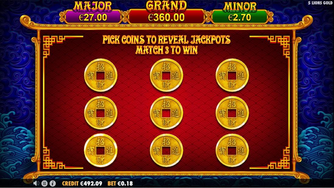 5 Lions Gold играть онлайн
