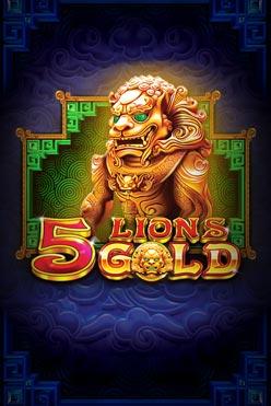 Играть 5 Lions Gold онлайн