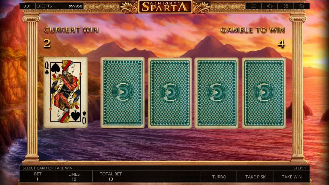 Almighty Sparta игровой автомат