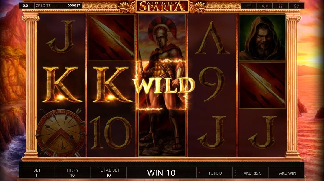 Онлайн слот Almighty Sparta