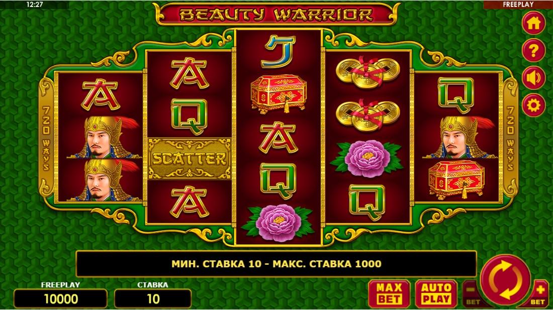Онлайн слот Beauty Warrior