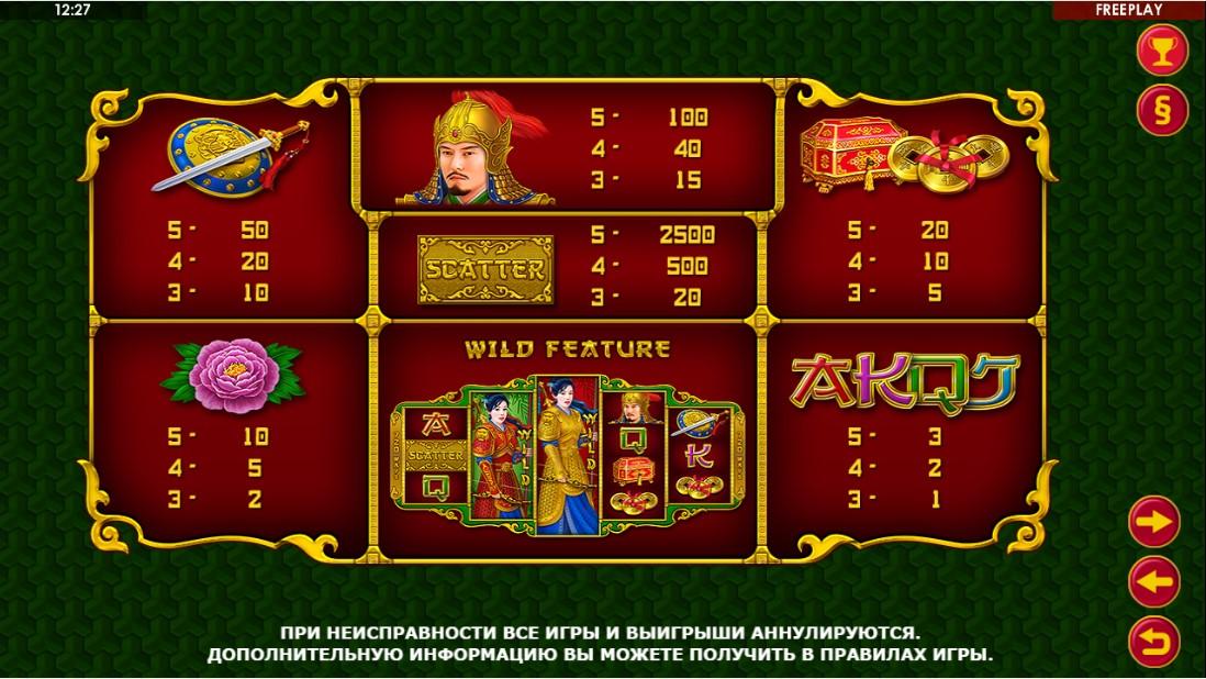 Beauty Warrior игровой автомат