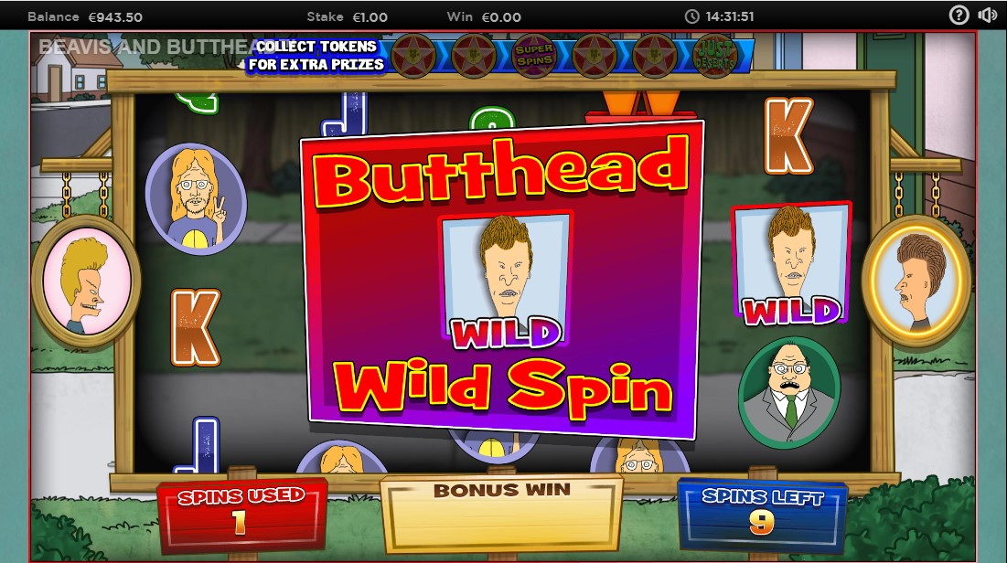 Слот Beavis and Butt-Head играть