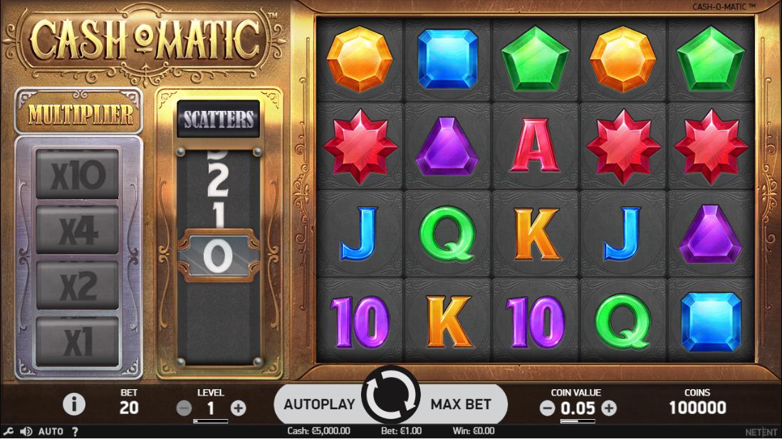 Cash-O-Matic игровой автомат