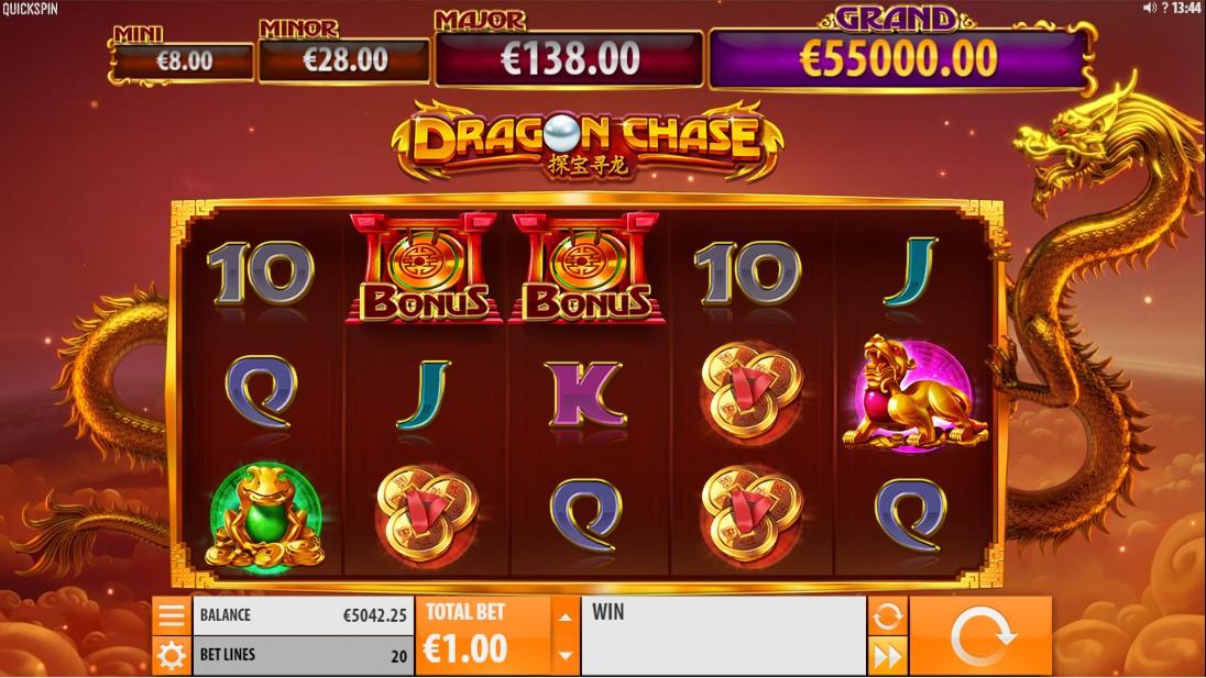 Онлайн слот Dragon Chase играть бесплатно
