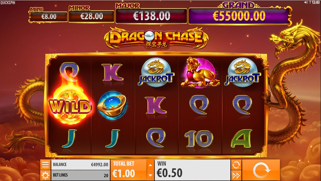 Dragon Chase играть онлайн