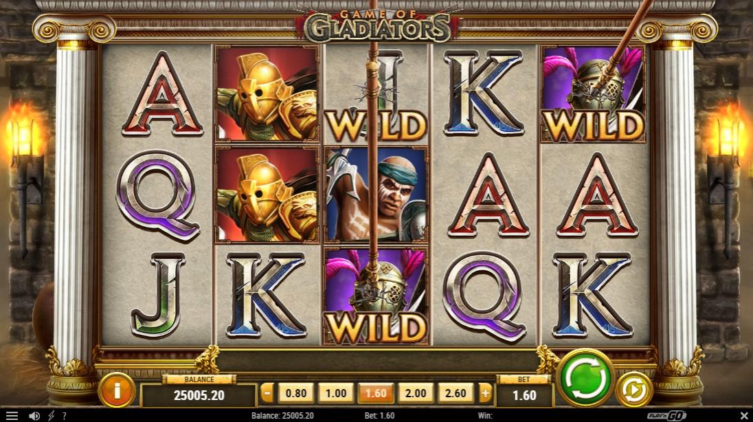 Бесплатный слот Game of Gladiators