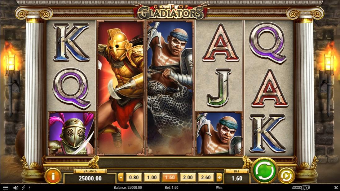 Game of Gladiators игровой автомат