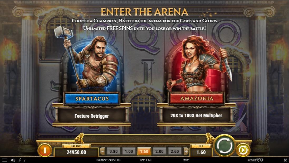 Слот Game of Gladiators