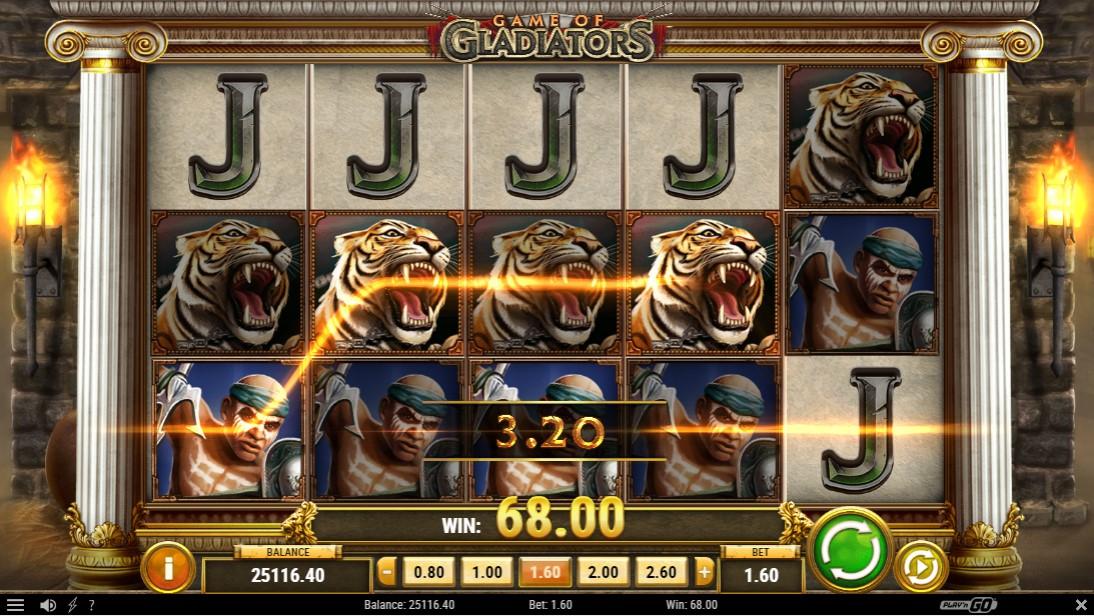 Онлайн слот Game of Gladiators