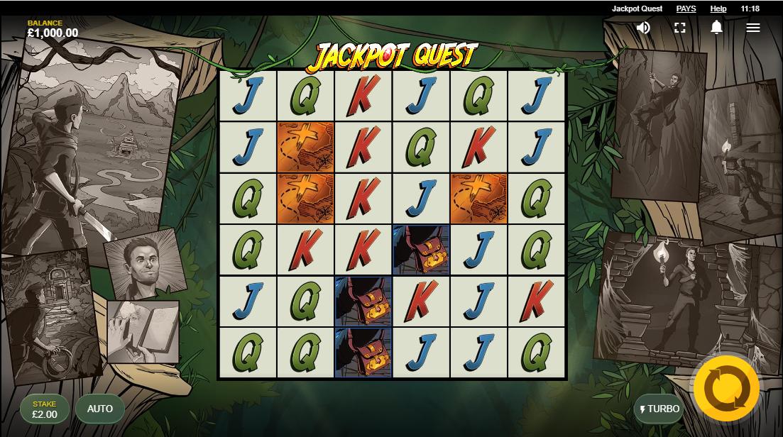 Слот Jackpot Quest играть