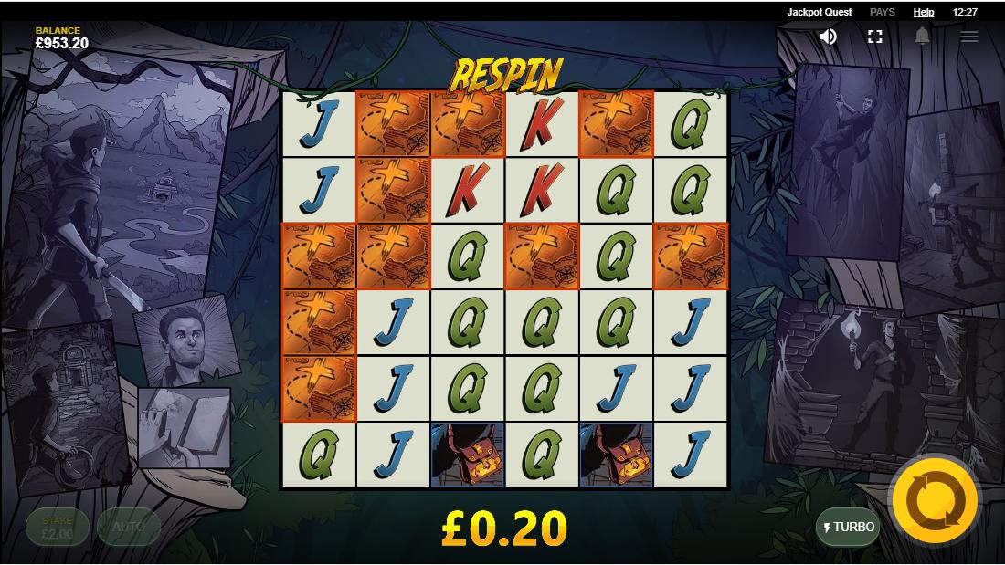 Онлайн слот Jackpot Quest