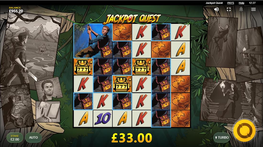 Jackpot Quest бесплатный слот