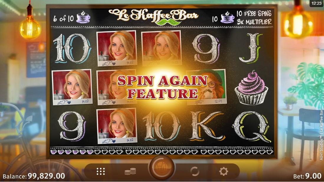 Игровой автомат Le Kaffee Bar