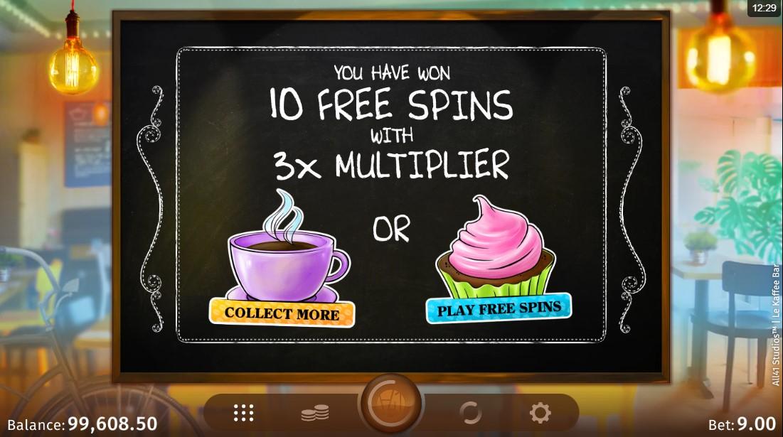 Le Kaffee Bar игровой автомат