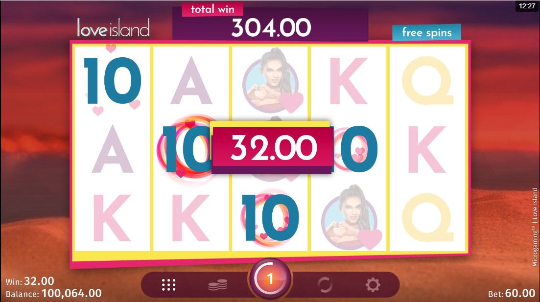 Игровой автомат Love Island