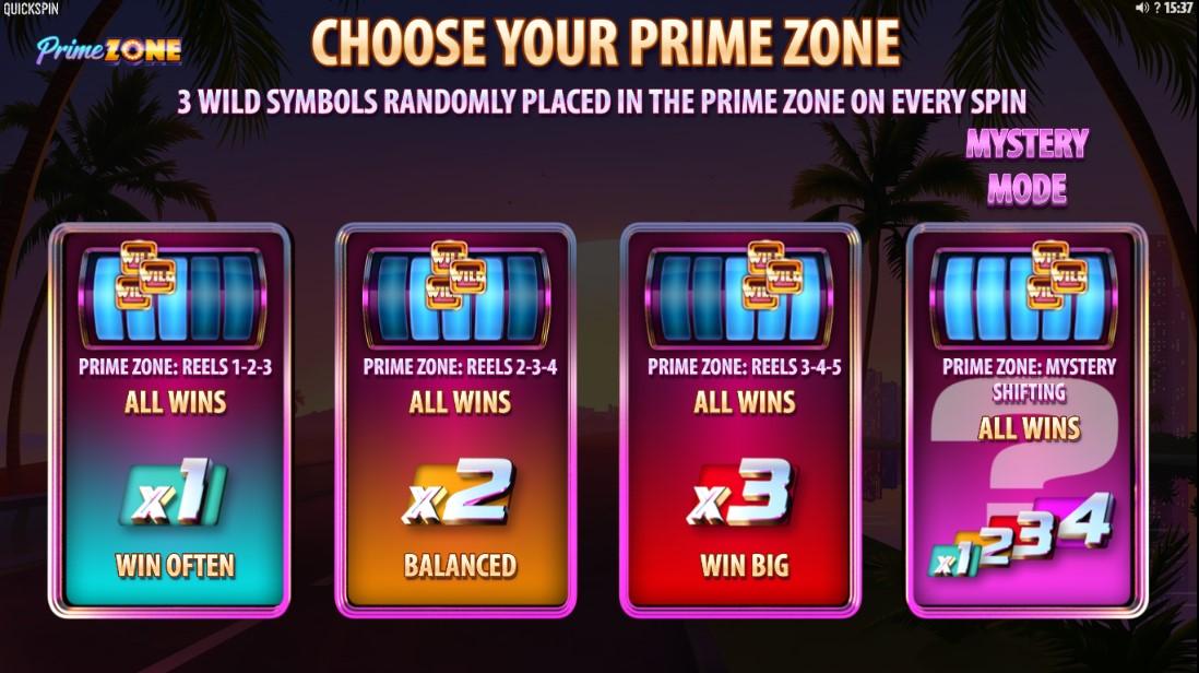 Слот Prime Zone играть