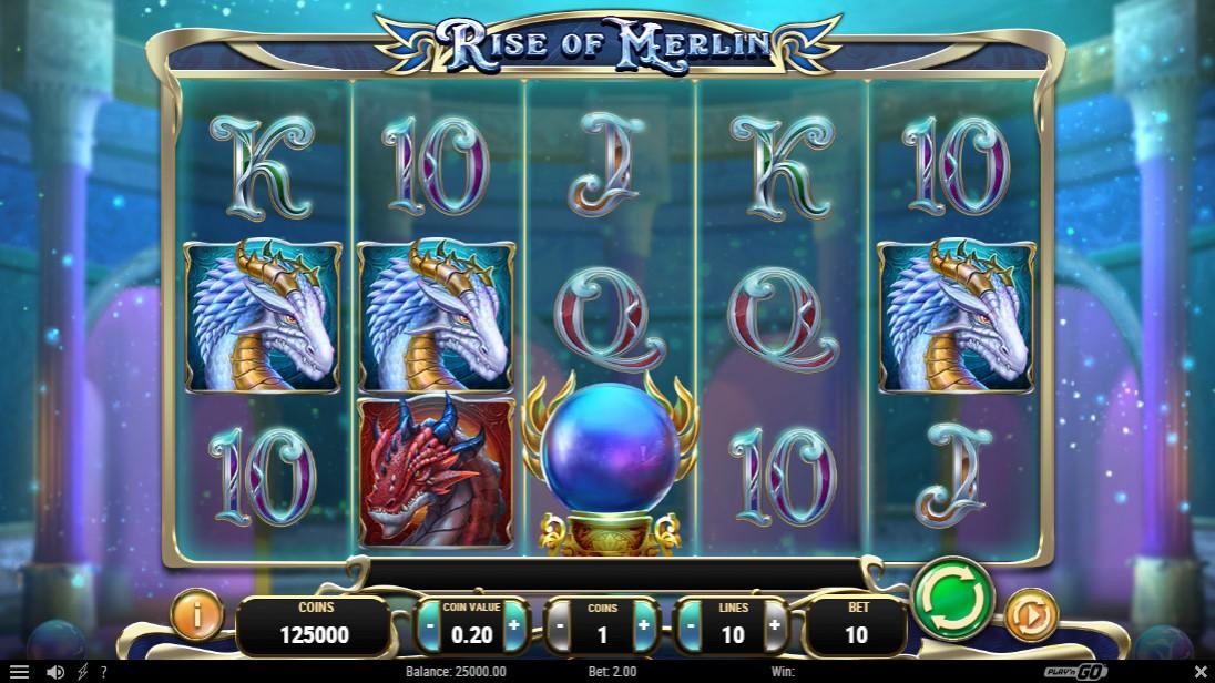 Онлайн слот Rise of Merlin