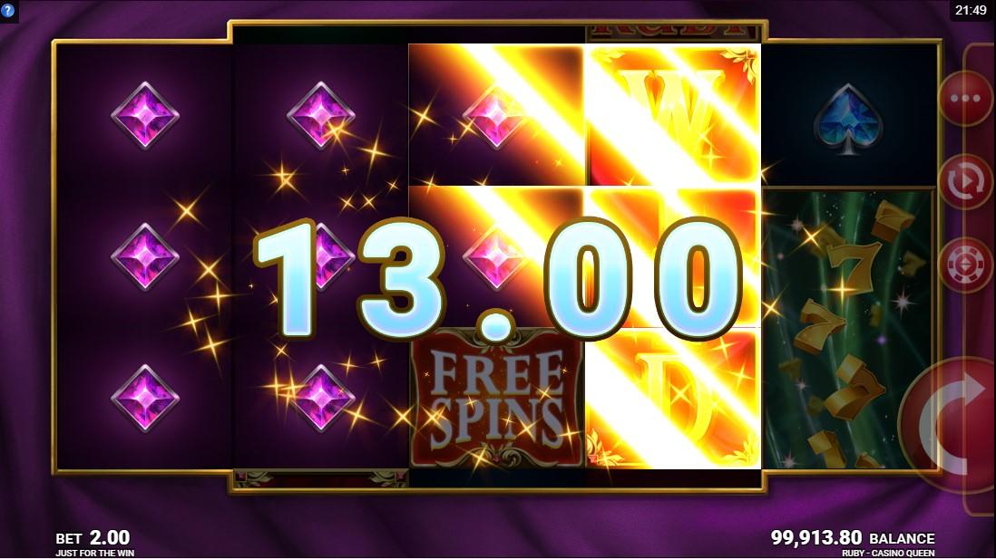 Ruby Casino Queen бесплатный слот
