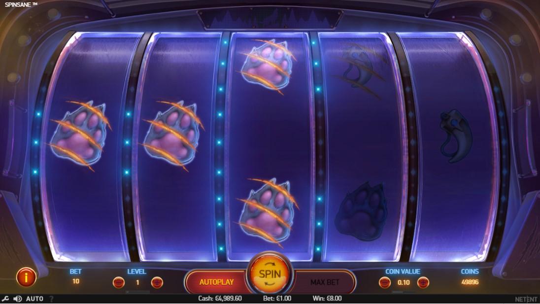 Spinsane игровой автомат
