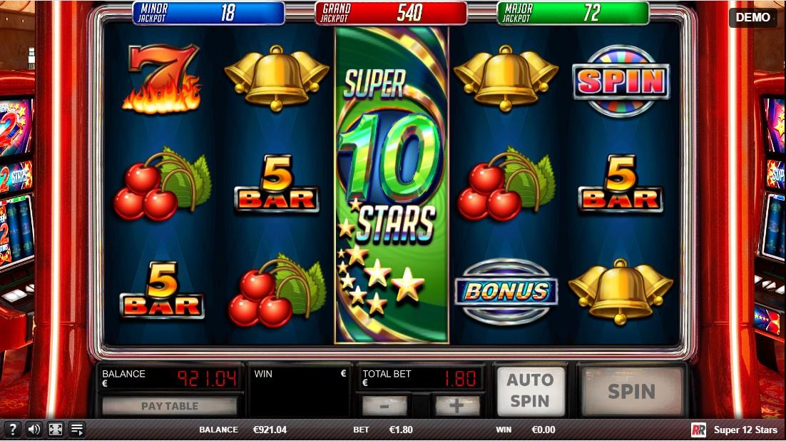 Игровой автомат Super 12 Stars