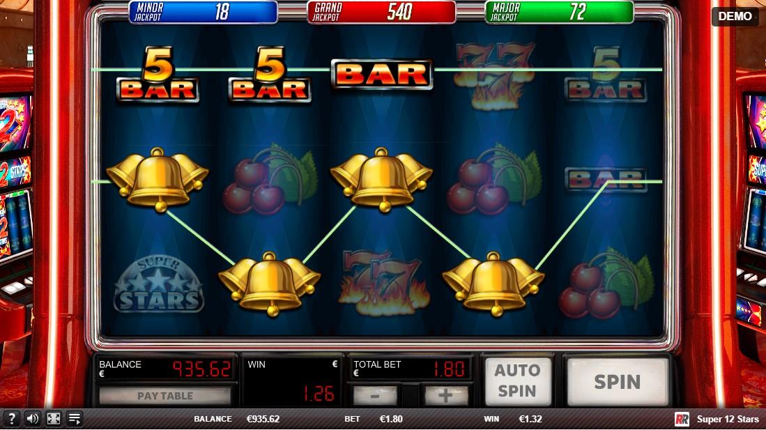 Super 12 Stars игровой автомат