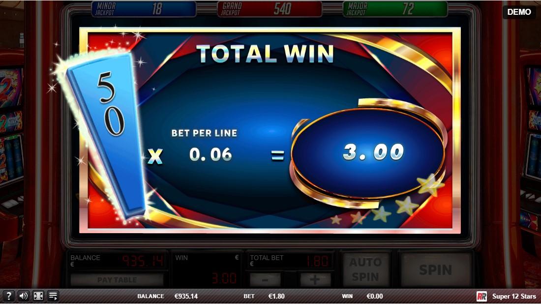 Слот Super 12 Stars играть бесплатно