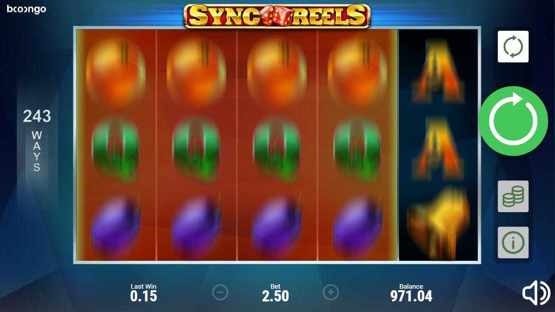 Онлайн слот Sync Reels