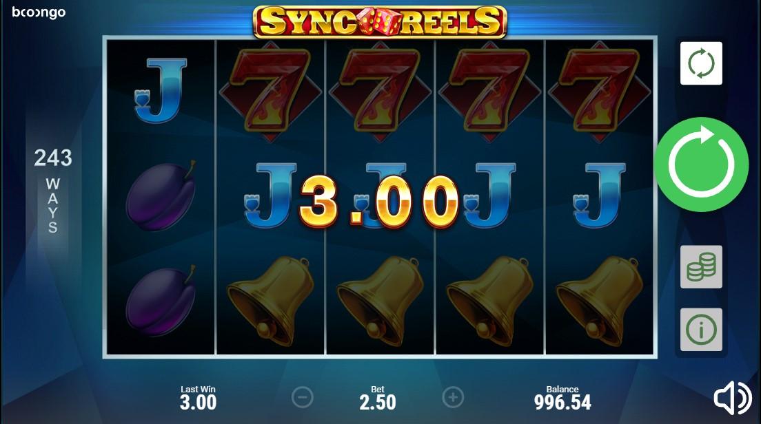 Играть бесплатно Sync Reels
