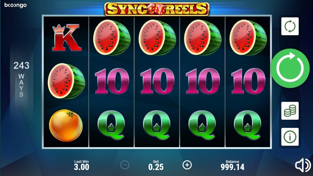 Игровой автомат Sync Reels