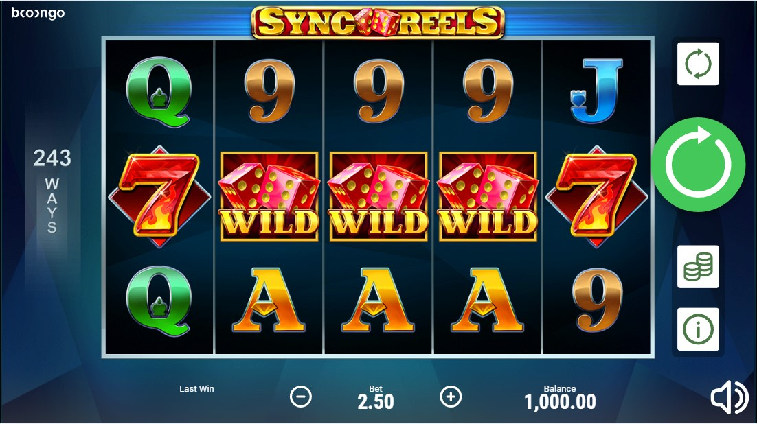 Sync Reels игровой автомат