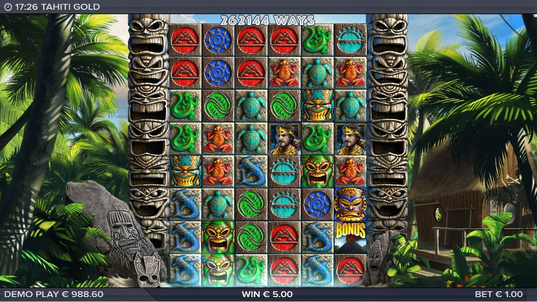 Слот Tahiti Gold играть