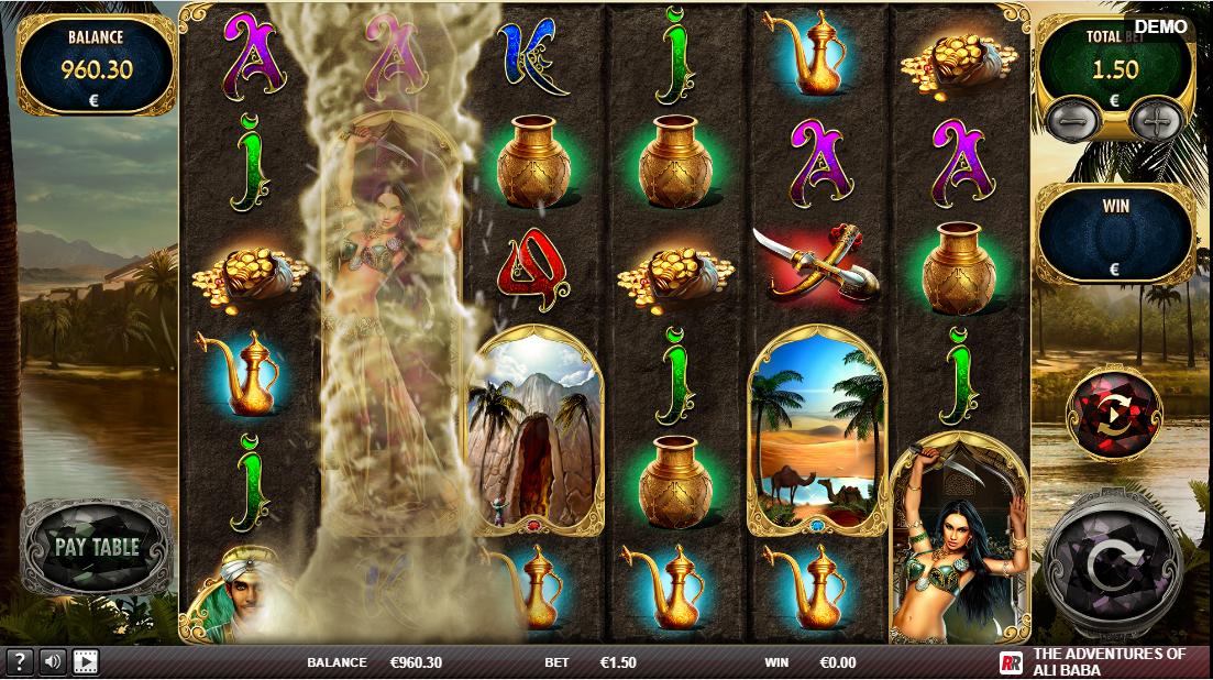 The Adventures of Ali Baba играть онлайн