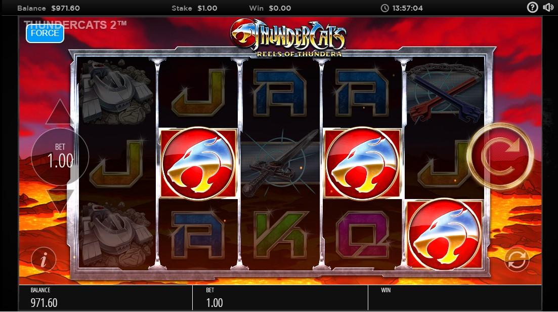 Слот Thundercats Reels Of Thundera играть бесплатно