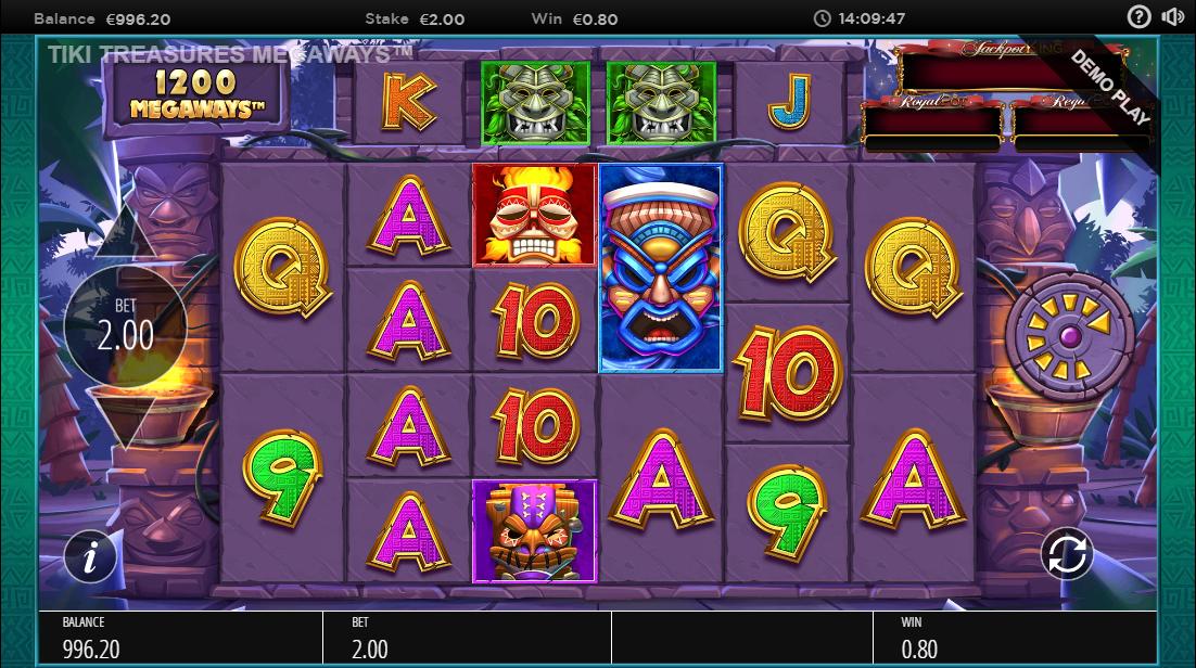 Игровой автомат Tiki Treasures Megaways