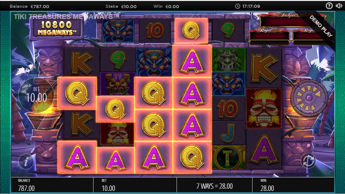 Tiki Treasures Megaways бесплатный игровой автомат