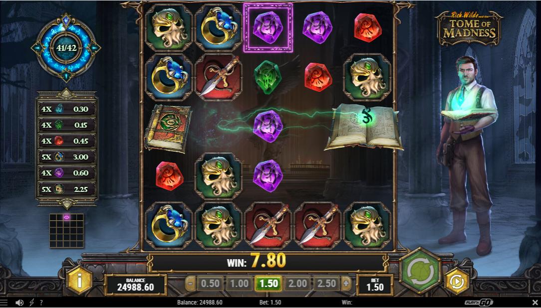 Онлайн игровой автомат Tome of Madness