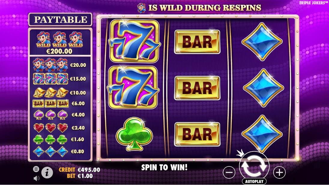 Triple Jokers игровой автомат