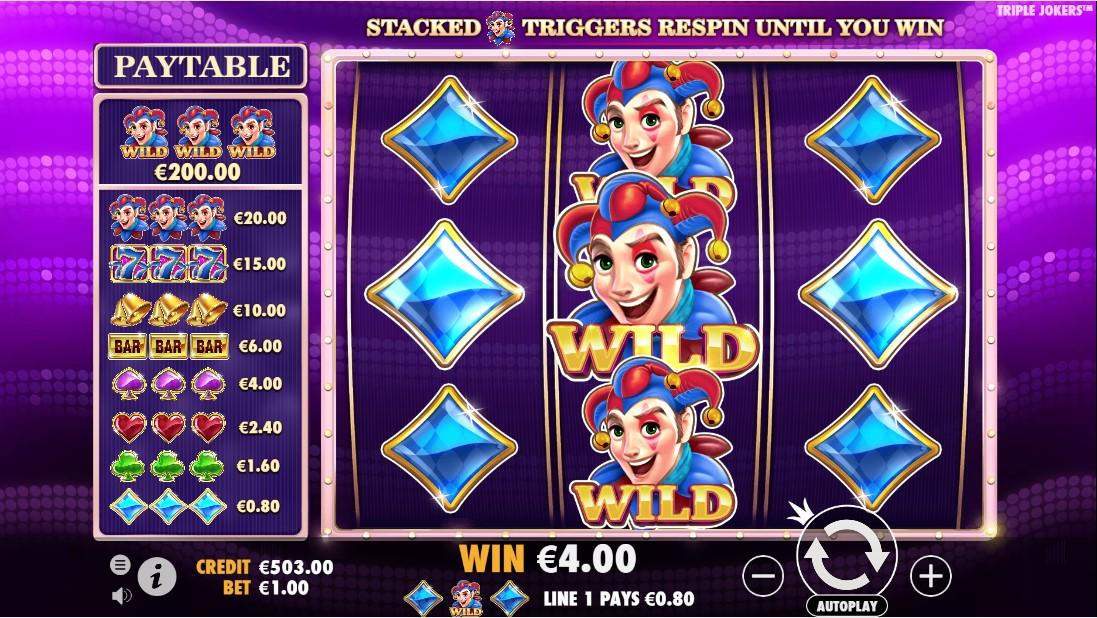 Игровой автомат Triple Jokers