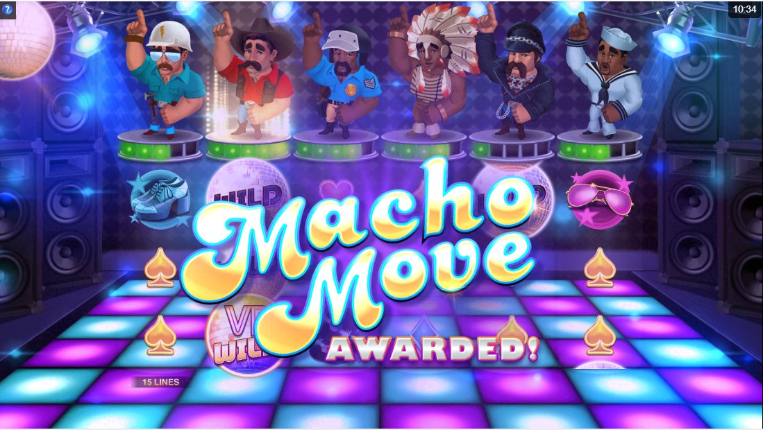 Бесплатный слот Village People Macho Moves