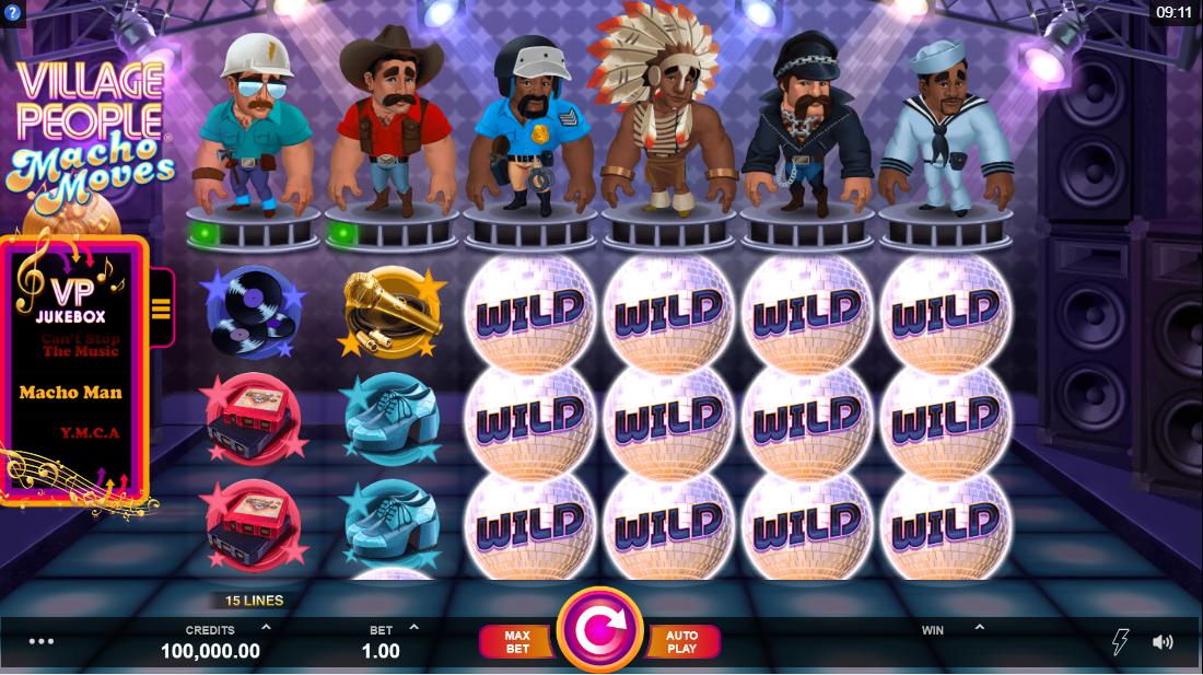 Village People Macho Moves слот играть