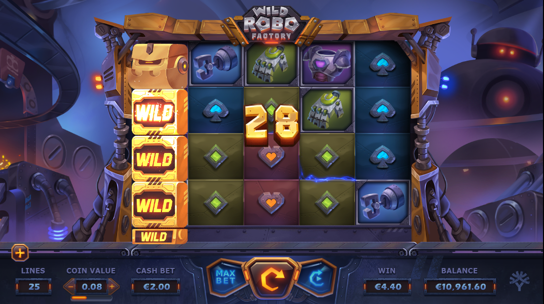 Wild Robo Factory онлайн слот