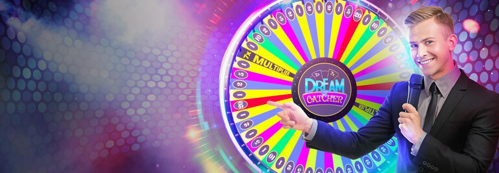 Как играть и выигрывать в колесо Dream Catcher