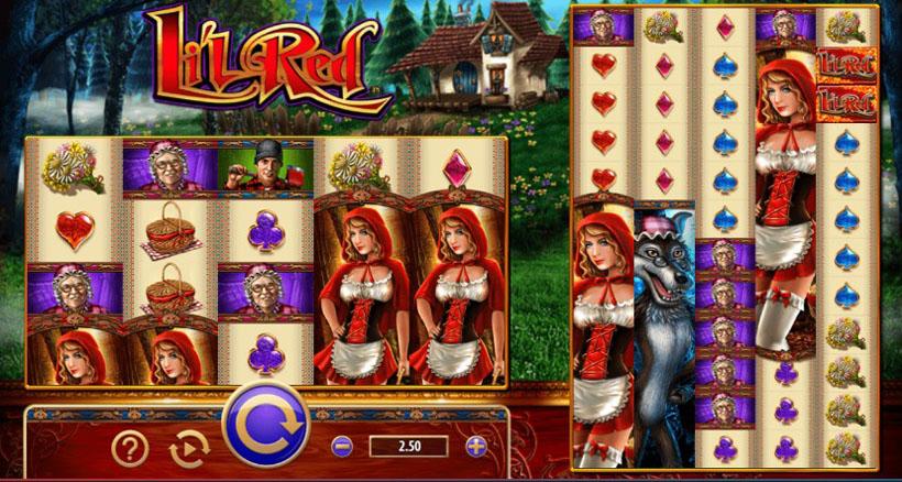 Красная шапочка игровой автомат игровые автоматы для кинотеатра